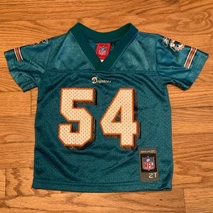 Zach Thomas Miami Dolphins Reebok NFL Jersey 2T